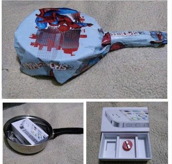 Как оформить подарок телефон 47