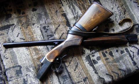 Как сделать воронение для ружья 708