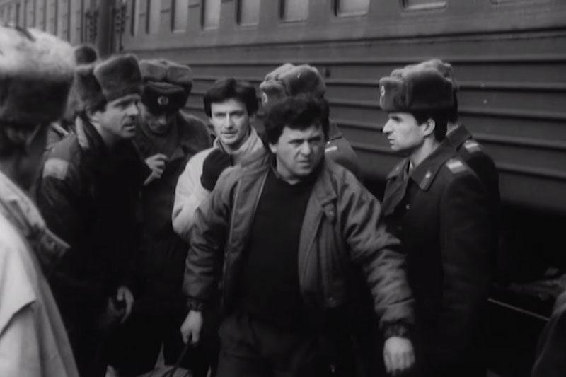 """""""Оцифрований Франківськ"""" : Кримінальний Франківськ (1995 р.) (відео)"""