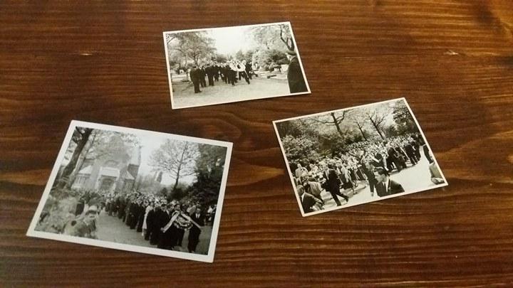 Франківський Музей визвольної боротьби отримав унікальні фото похорону Євгена Коновальця (відеосюжет)