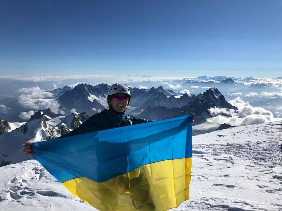 """Результат пошуку зображень за запитом """"Франківчанка Ірина Кишакевич підкорила найвищу вершину Західної Європи"""""""