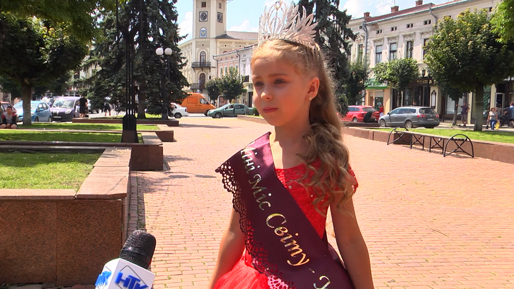 Юна коломиянка стала найкращою моделлю України (відеосюжет)