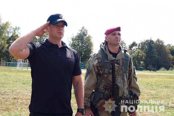 Спецпризначенці прикарпатської поліції розпочали шестиденні навчання (фотофакт)
