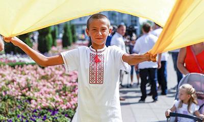 Діти зі Сходу України завітали на Прикарпаття (відеосюжет)