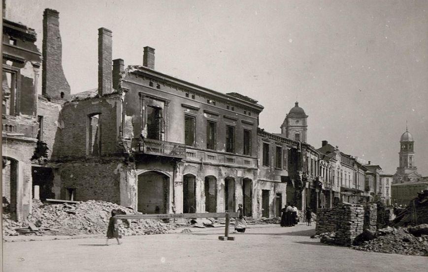 Станіславів у руїнах. Як виглядало місто після Першої світової війни (фоторепортаж)