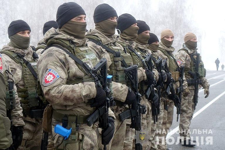 Прикарпатські поліцейські беруть участь у тактико-спеціальних навчаннях (фоторепортаж)