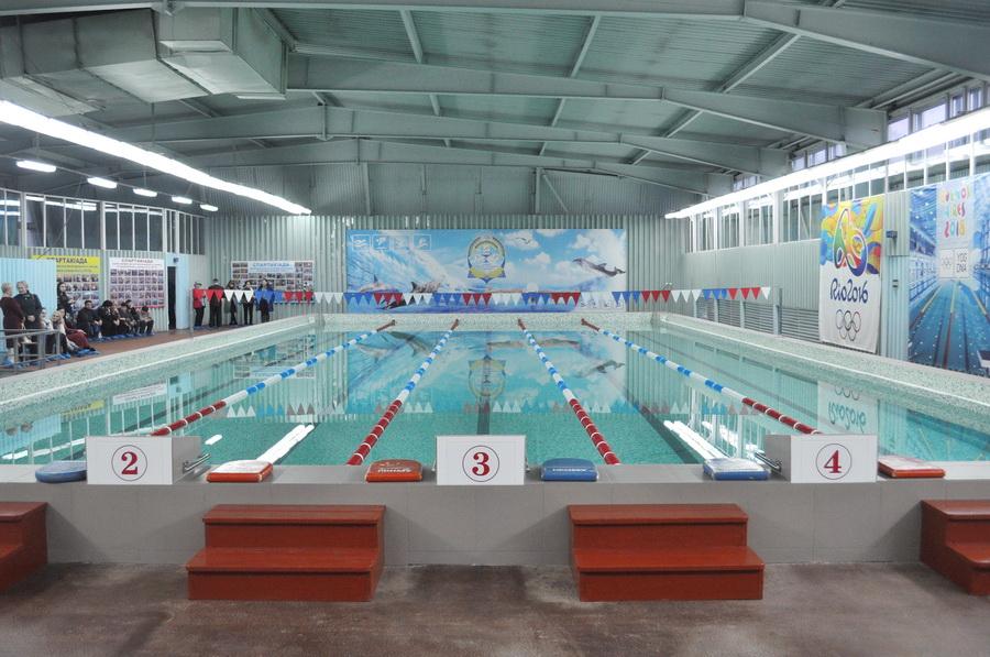 В ІФНМУ після реконструкції відкрили оновлений басейн (фоторепортаж)