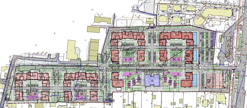 У Франківську побудують квартал з 35 багатоповерхових будинків