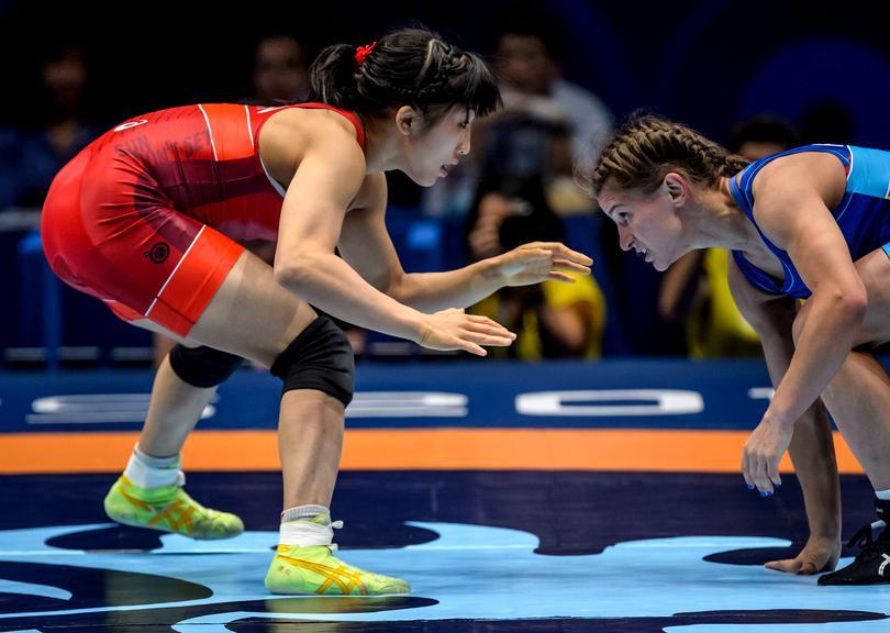 Прикарпатські спортсменки відзначилися на турнірі з вільної боротьби