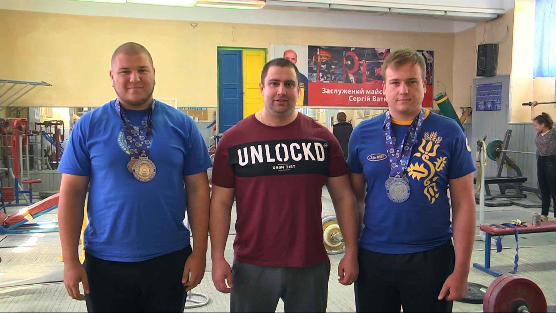 Коломийські пауерліфтери здобули 4 медалі на Чемпіонаті Європи (відеосюжет)