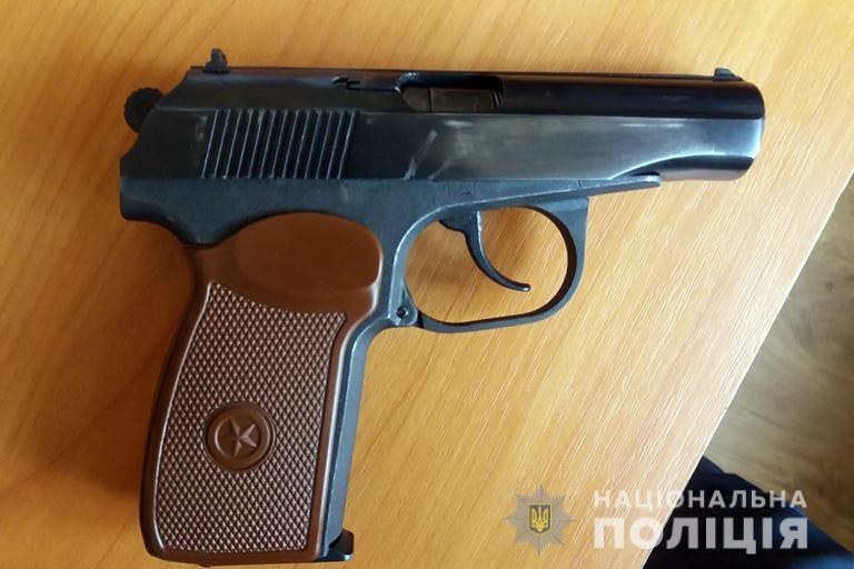 На Прикарпатті поліція знову вилучала зброю, патрони та гранату