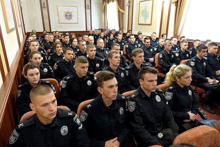 Більше 70 курсантів проходитимуть практику в поліції Прикарпаття