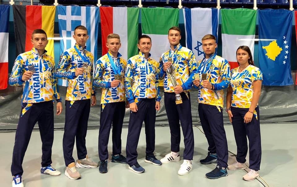 Спортсмени з Івано-Франківська показали хороший результат на чемпіонаті Європи з бойових мистецтв (фотофакт)
