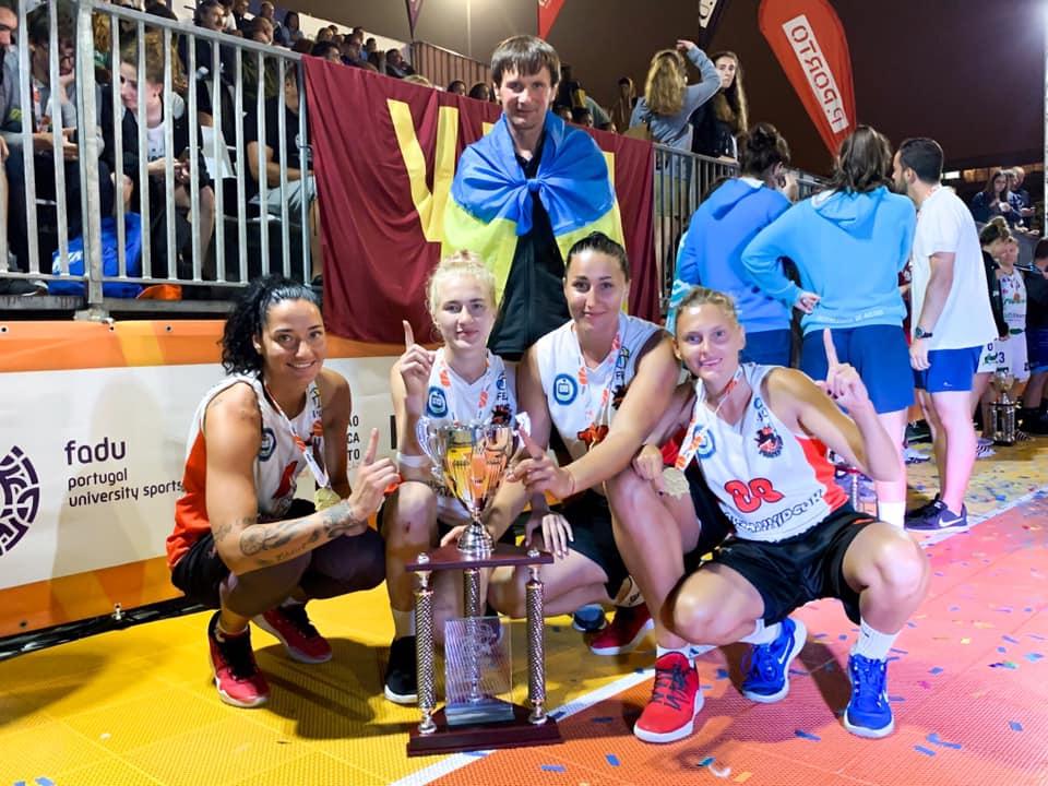 Студенти Прикарпатського університету вибороли золото на Європейському чемпіонаті з баскетболу 3х3